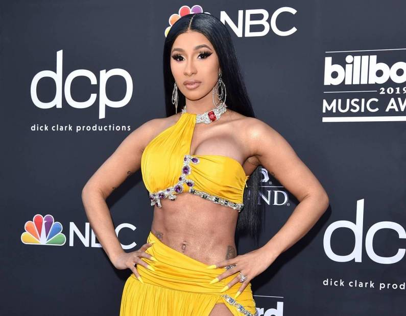Cardi B Flaunts 6 Pack Abs In Instagram Video Watch Clip: Cardi B Performs Following Liposuction Despite Doctor's