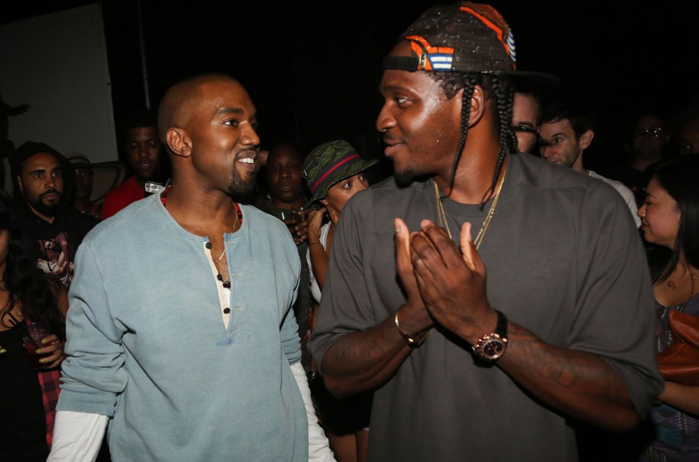 Kanye West & Pusha T Sued Over 'Come Back Baby' George ...